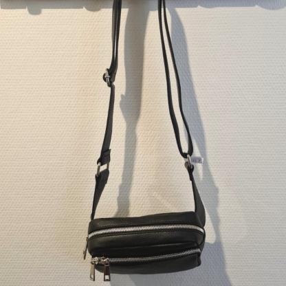 Leder Crossbody Bag